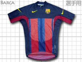Cycling jersey for NIKE FC Barcelona bicycle race department players