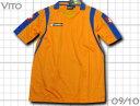 ロット製ゲームシャツオレンジ 背番号加工無料 パレルモベース