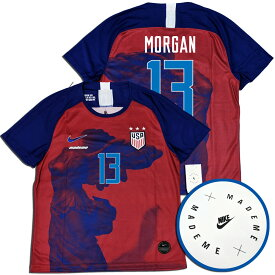 NIKE LAB x MADEME アメリカ代表・スペシャルエディション #13 MORGAN 女性用・FIFA女子ワールドカップ2019 NIKE 【ネーム変更可能】【送料無料】