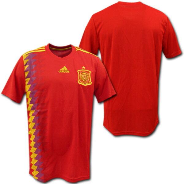 【OKAマーキング無料!】スペイン代表 2018 ホーム(赤) ロシアW杯 adidas