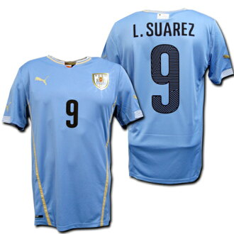 best cheap c421c 2e26b 14 / 15 Uruguay national team Home (light blue) # 9 L.SUAREZ Suárez PUMA