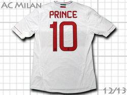 【最新】 ACミラン 12/13 アウェイ #10 PRINCE プリンス・ボアテング アディダス製