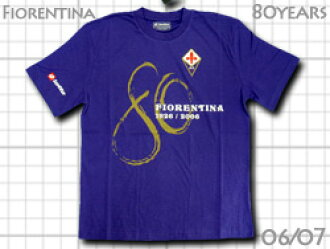 Fiorentina 80th anniversary commemorative T shirt lot-