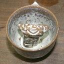 【米子焼】教訓茶碗(白)