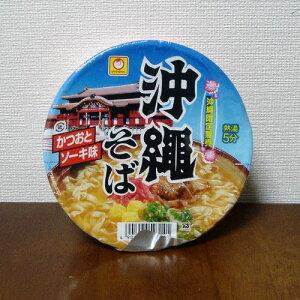 沖縄限定販売沖縄そば(かつおとソーキ味)カップ