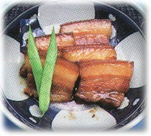 沖縄・石垣島より♪割烹の味・三枚肉煮付(豚バラ肉)100g自家製