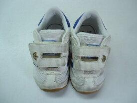 【中古】【あす楽可】【adidas アディダス】ベビースニーカー/023595☆12cm☆ホワイト×ブルー×レッド