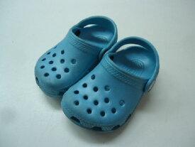 【中古】【あす楽可】【crocs クロックス】キッズ・ベビーサンダル☆4 5 (13cm程度)☆ライトブルー