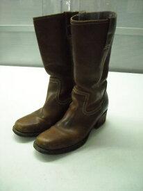 【中古】【あす楽】BUTTERO【ブッテロ】■ハーフブーツ■レディース■38(24.0cm程度)■ブラウン■洗練された女性らしいブーツ♪