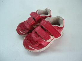【中古】【あす楽】adidas【アディダス】■スニーカー■キッズ■14.0cm■ピンク×ホワイト■より早く走りたいというお子様に♪