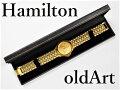 入手困難デッドストック1970年代フリーメイソン会員限定ハミルトンHAMILTONダイヤモンドクォーツ式腕時計【送料無料】