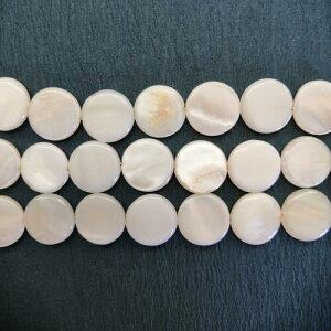 シェルパーツ 白蝶貝 デイスク 12mm 厚み3mm 10個 アクセサリー 天然物 手作り ネックレス
