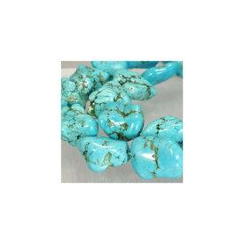 天然石 ブルーターコイズストーン 大玉 12-18x15-30mm