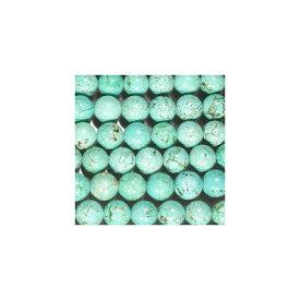 天然石 グリーンターコイズ 丸玉 10mm