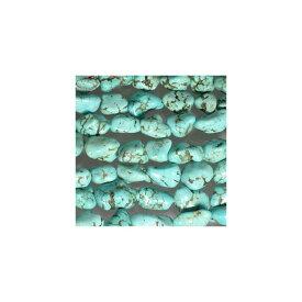 天然石 グリーンターコイズストーン 10-14x10-16mm