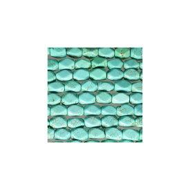 天然石 グリーンターコイズ ダイヤカット 6x9mm