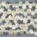 淡水パール ホワイト(自然色) ケシクレオ (約)8-11mm
