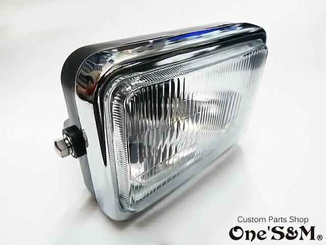 角型ヘッドライト 高品質LEDヘッドライトバルブ RGB LEDポジション球付き 角目ヘッドライト