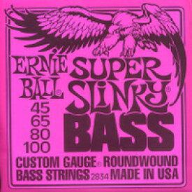 【RCP】★2セット販売!ERNIE BALL ベース弦  2834/SUPER SLINKY BASS アーニーボール スーパースリンキー