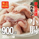 【あす楽】【送料無料】徳用牛ホルモン(小腸)900g(300gx3袋)(冷凍)