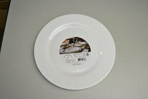 【ヒルナンデス!】Zenix インテンシティー 25.5cm ディナープレート メインディッシュ 肉料理 魚料理 レンジ可 食洗器可 ディナープレート 陶器 白食器 業務用 割れにくい 大量注文承ります
