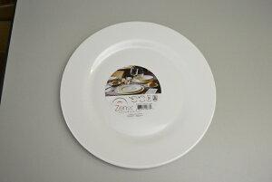 【ヒルナンデス!】Zenix インテンシティー 27.5cm ディナープレート メインディッシュ 肉料理 魚料理 レンジ可 食洗器可 ディナープレート 陶器 白食器 業務用 割れにくい 大量注文承ります