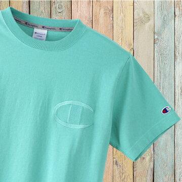 左胸ビッグC同色刺繍チャンピオンTシャツc3-m358-05