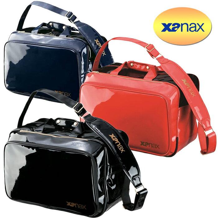 ザナックス エナメル セカンドバッグ XL BA-G801