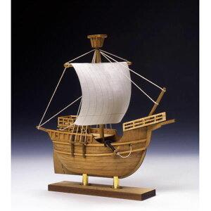 【送料無料】 ウッディジョー 木製帆船模型 ミニ帆船 NO.4 カタロニア船
