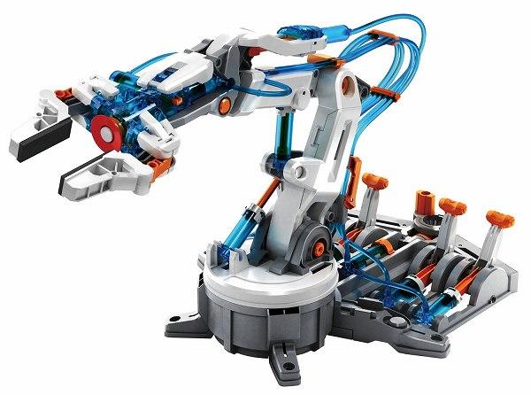 【送料無料】 エレキット ロボット工作キット 水圧式ロボットアーム MR-9105 水でうごく