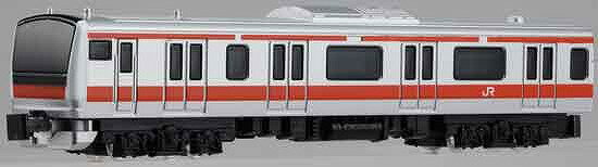 Nゲージダイキャストスケールモデル No.09 E233系5000番台 京葉線