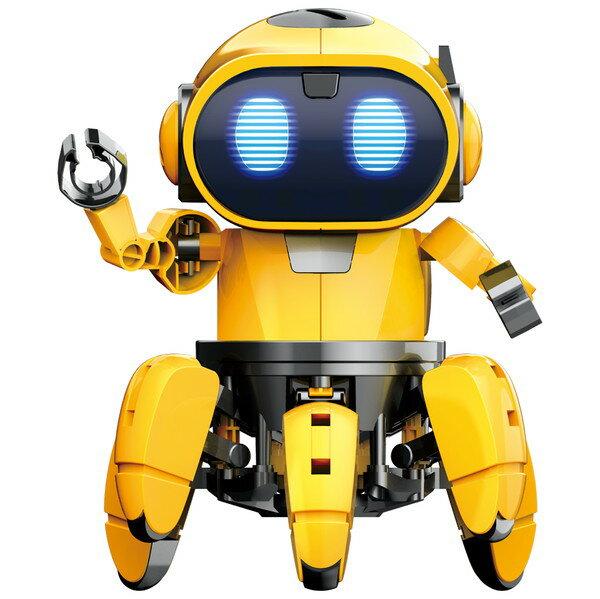 【送料無料】 エレキット ロボット工作キット フォロ 赤外線レーダー搭載6足歩行ロボット MR-9107