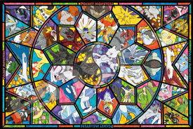 【送料無料】 ジグソーパズル 1000ピース アートクリスタルジグソー ポケットモンスター 伝説のポケモン 50x75cm 1000-AC011