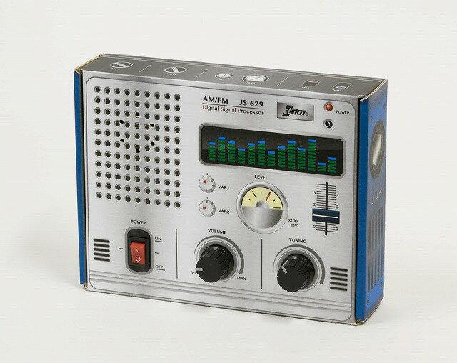 【送料無料】 エレキット はこ工作キット AM/FM はこらじ JS-629