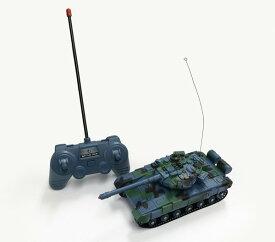 【送料無料】 電動R/C 40MHz バトルタンクジュニア T-72型 (赤外線バトルシステム付)