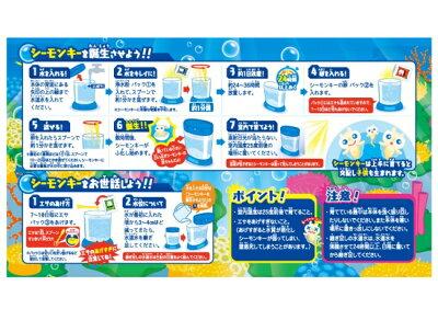 【送料無料】海の動物園!シーモンキーズマゼンタセット