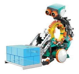 ★【単4アルカリ電池2本付き・送料無料】 エレキット ロボット工作キット ビットさん パソコンを使わないプログラミングロボ MR-9109 STEM 自由研究