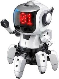 【送料無料】 エレキット ロボット工作キット プログラミング・フォロ for PaletteIDE 赤外線レーダー搭載6足歩行ロボット  MR-9110