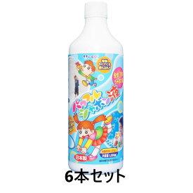 【送料無料】 パワフルシャボン玉液 1000ml 6本入り セット販売 国産