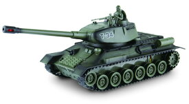【送料無料】 電動R/C 27MHz ワールドバトルタンク ロシア T-34型 (赤外線バトルシステム搭載)