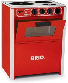 【送料無料】 レンジ 赤 木のおもちゃ ままごと キッチン プレゼント 31355 ブリオ BRIO