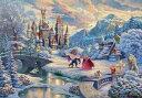 11月27日発売予定 【送料無料】 ジグソーパズル 1000ピース Beauty and the Beast's Winter Enchantment 51x73.5cm …