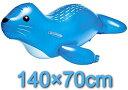 【送料無料】 アザラシフロート 140×70cm うきわ 浮き輪 フロート 水遊び プール 海水浴