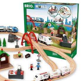 【数量限定:送料無料】 リモートコントロールトラベルセット 33277 BRIO 木製玩具
