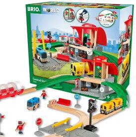 【送料無料】 セントラルステーションセット 33989 おもちゃ ブリオ BRIO