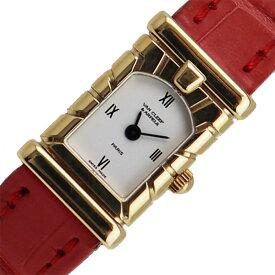 ヴァンクリーフ&アーペル Van Cleef & Arpels ファサード 金無垢 クォーツ レディース 腕時計【中古】