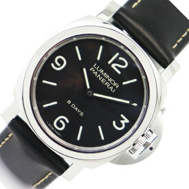 パネライ PANERAI ルミノール ベース 8デイズ アッチャイオ PAM00560 手巻き メンズ 腕時計【中古】