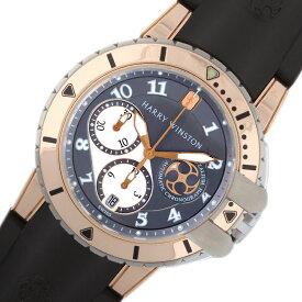 ハリーウィンストン HARRY WINSTON オーシャンダイバークロノ OCEACH44RZ001 自動巻き メンズ 腕時計【中古】