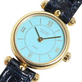 ヴァンクリーフ&アーペル Van Cleef & Arpels クラシック ラウンド クオーツ レディース 腕時計 中古