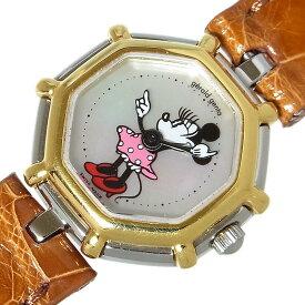 ジェラルド・ジェンタ Gerald Genta レトロファンタジー ミニーマウス G2899.7 クオーツ レディース 腕時計【中古】